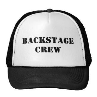 Backstage Crew Trucker Hat